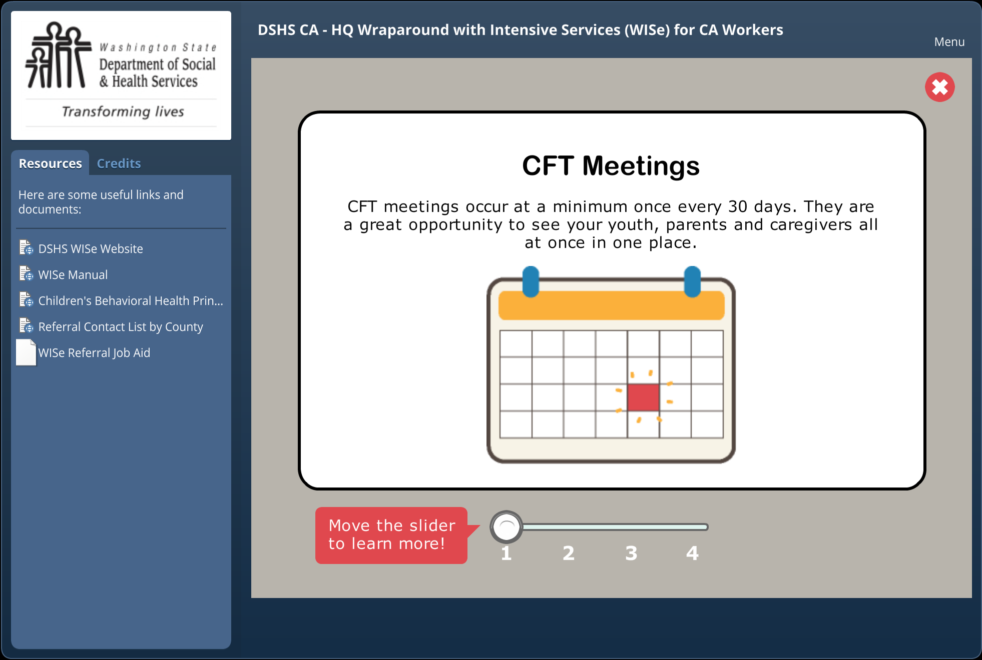 CFT Meetings