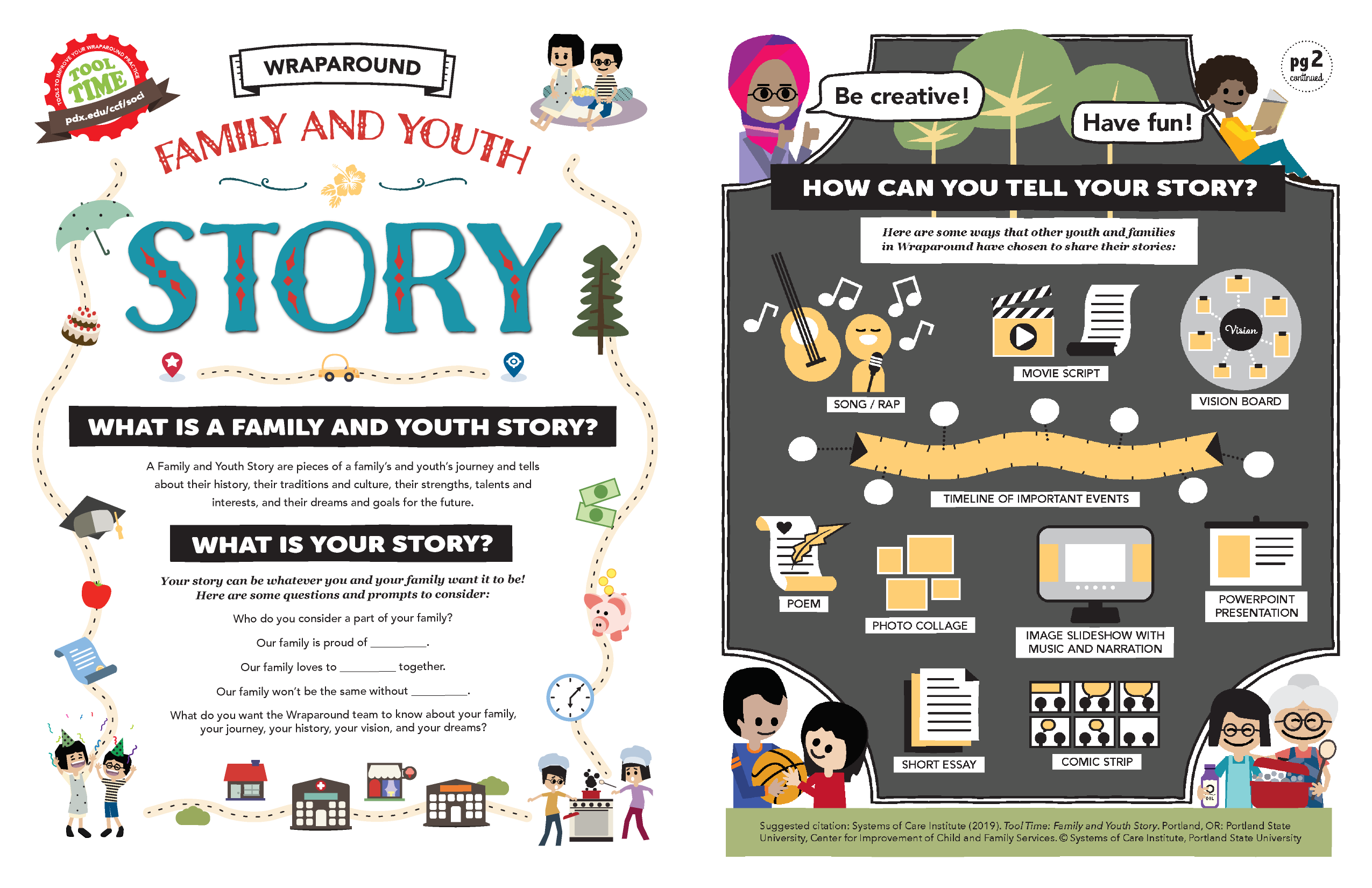 REDESIGN: Family and Youth Story