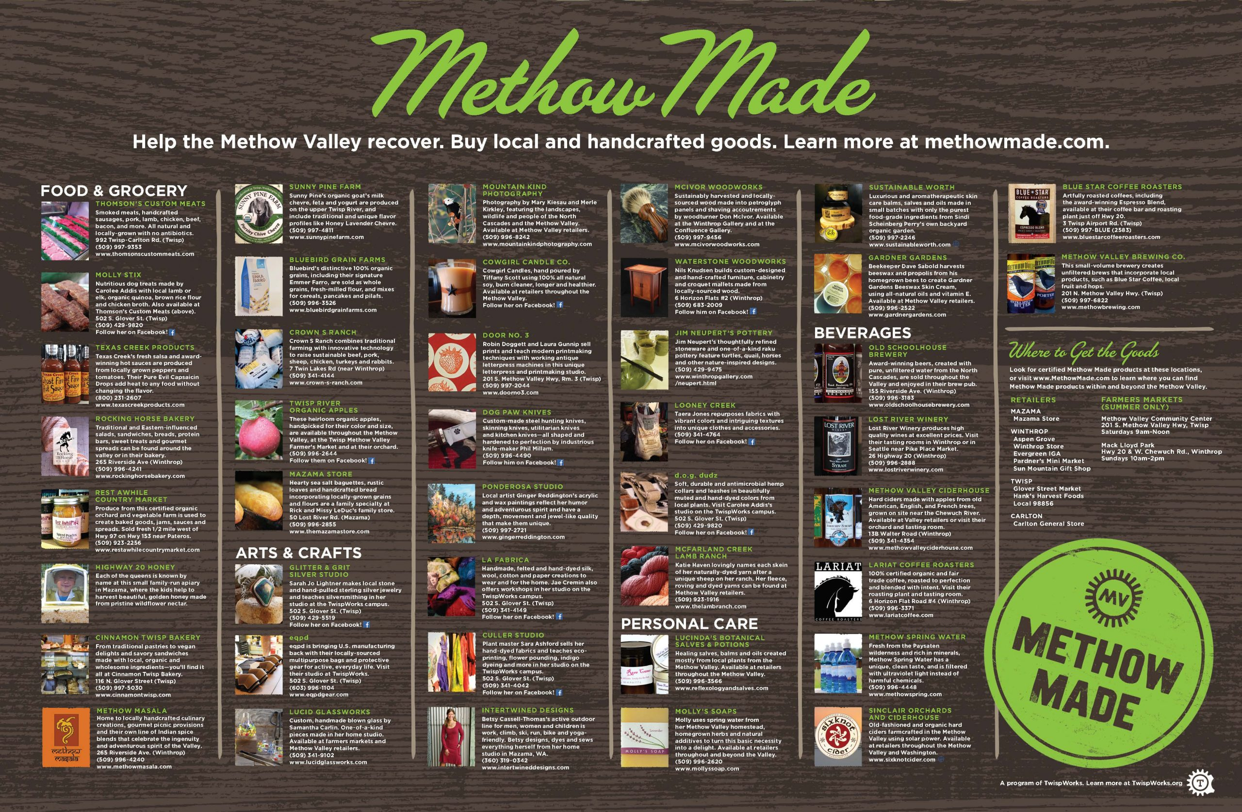 Methow Made Poster